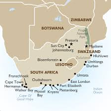 map of us vacation spots south african tours safaris u0026 vacation packages 2018 19 goway
