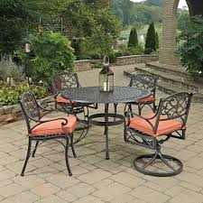 Cast Iron Patio Furniture Sets by Home Decorators Collection Outdoor Madrid 5 Piece Bronze And