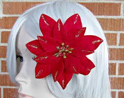 christmas hair accessories christmas hair etsy
