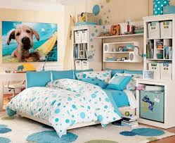 Small Bedroom Ideas For 2 Teen Boys Teen Room Attractive Light Blue Dots Bedding On Light Blue Dots