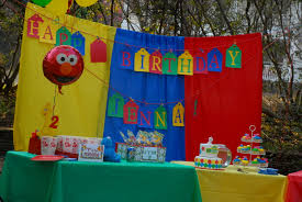 sesame birthday sesame birthday party decorations decorating of party