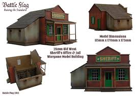 Flag Kits Home Old West Deluxe Kits Wargame Buildings U0026 Accessories