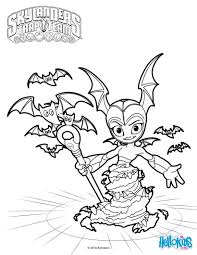 bat spin coloring pages hellokids com