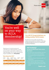 students acca membership leaflet by acca yearbook issuu