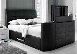 King Size Leather Bed Frame May Sale Kingsize Tv Leather Bed Frame Free Quilt 299 Holds Within