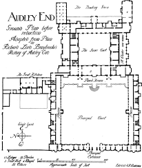 audley end ground floor plan before reduction fig87 jpg 846 1000