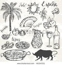 spanish food stock images royalty free images u0026 vectors