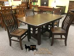the perfect size trestle table for any breakfast area sheridan