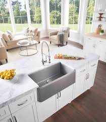 Kitchen  Kitchen Sinks With Drainboard Built In Kohler Double - Kitchen sinks kohler