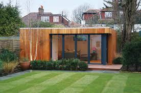 Summer House In Garden - shipping container garden gardening ideas
