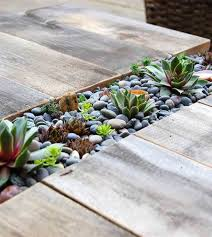 Succulent Rock Garden by 33 Best Built In Planter Ideas And Designs For 2017