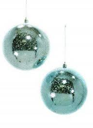 antique shiny silver mercury glass pinecone tree