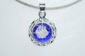 ashes necklace cremation jewelry ashes necklace made in honor of your loved one