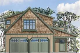 craftsman house plans garage w apartment 20 119 associated designs garage plan 20 119 front elevation