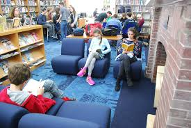 comfy library chairs vision to reality how the galloway school transformed their library