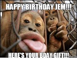 Meme Monkey - 25 best memes about happy birthday monkey meme happy birthday
