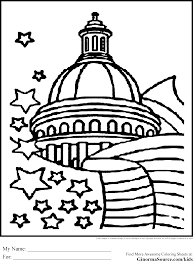 washington coloring pages