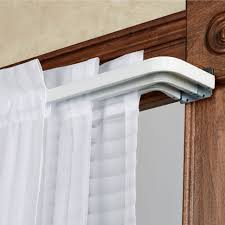 Accessories Kirsch Curtain Rods Intended by Coffee Tables Curtain Rod Brackets Lowes Drapery Hardware