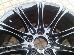 bmw black alloys customised alloy wheel colours the wheel medics
