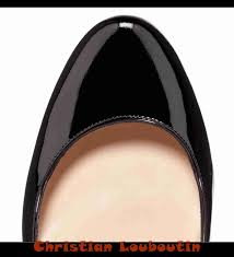 christian louboutin black decollete leather pumps o8718792 the