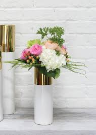 How To Arrange Flowers In A Tall Vase Glam Wedding Decorations Wedding Vases Afloral Com