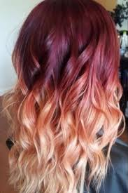 best hair red hair doos 2015 red to blonde ombre hair with waves styles weekly