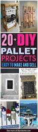 20 diy pallet projects that are easy to make and sell diy