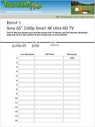silent auction bid sheet silent auction bid sheet bid numbers