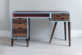 Mid Century Modern Desk Clock by Mid Century Style Computer Desk Best Home Furniture Decoration