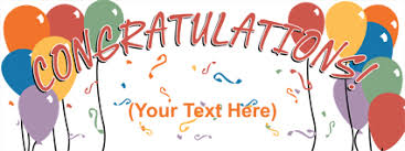 congratulation banner 6 best images of printable congratulations signs free printable