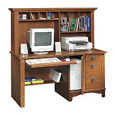 Sauder Computer Desk And Hutch Sauder Mission Computer Desk With Hutch And Lower Shelf 57 14 H X