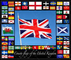 Union Of The Flag County Flags Of The United Kingdom Together With The Flags Of
