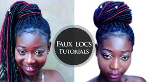 youtube crochet hairstyles on thinning hair easiest way to do faux locs with brazilian wool yarn crochet