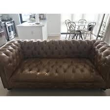 Chestnut Leather Sofa Restoration Hardware Cambridge Leather Sofa In Chestnut Aptdeco