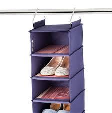 hanging shoe organizer for closet home design ideas