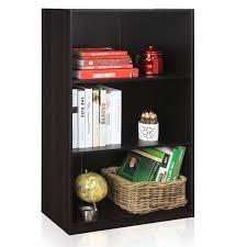 amazon com furinno 99736ex basic 3 tier bookcase storage shelves