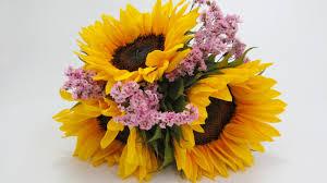 sunflower bouquet sunflower bouquet tutorial budget friendly beauty