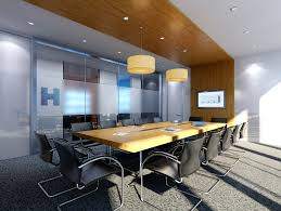 3d conference room with skylight cgtrader