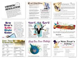 new years party packs printable new years party new year s party activities