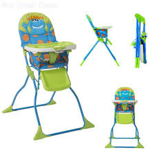 Simple High Chair Simple Fold Deluxe High Chair 3 Point Harness Baby Highchair