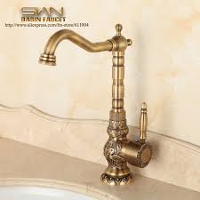 antique brass kitchen faucet aliexpress com buy antique brass bathroom faucet lavatory vessel