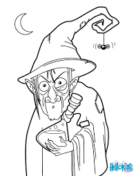 halloween witch printables witch potion coloring page witch coloring pages in cartoon
