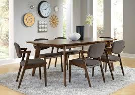 dark walnut finish 7 pc dining set caravana furniture