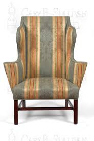 Reclining Wingback Chairs Chippendale Wing Back Chair Circa 1760 80 Clocks 11069 Gary