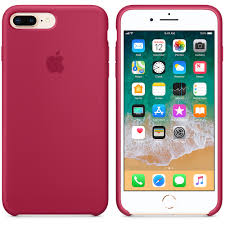 iphone 8 plus 7 plus silicone case rose red apple