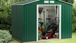 different types of garden sheds metal wood plastic sheds