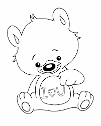 love coloring pages teddy bear coloringstar
