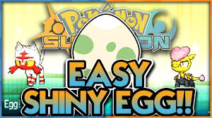 what to get a for s easy shiny eggs new shiny method in sun and moon how to