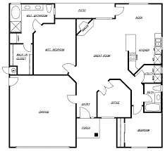 Mission Home Plans by Floor California Floor Plans