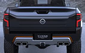 nissan titan concept truck 2016 nissan titan warrior concept details 25 2560x1600